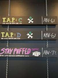 MobCraf's Current Tap List